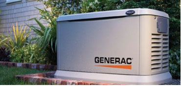 Whole home generator installation & repair